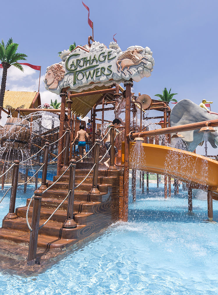 Parc d'attractions à Hammamet